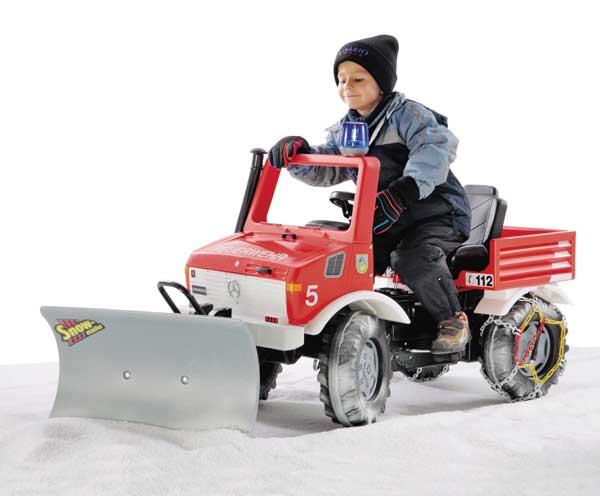 Quitanieves para tractores de pedales - Ítem2