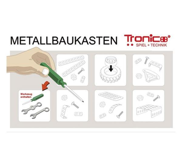 TRONICO 1:16 Kit de montaje tractor NEW HOLLAND T8.390 RC Radio Control - Ítem8