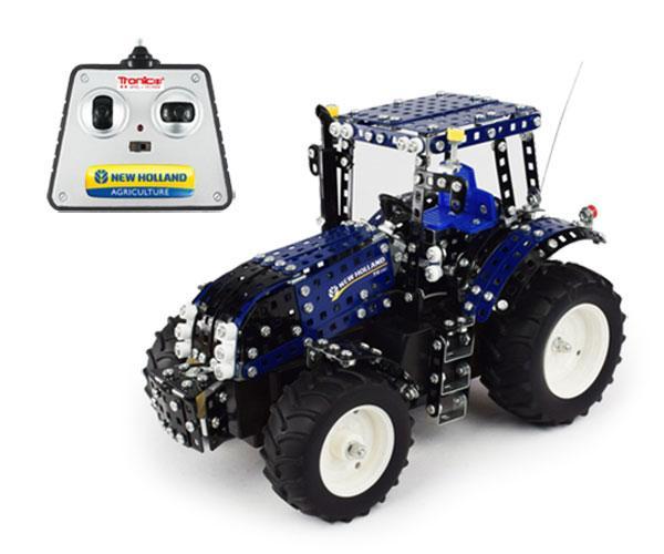 TRONICO 1:16 Kit de montaje tractor NEW HOLLAND T8.390 RC Radio Control