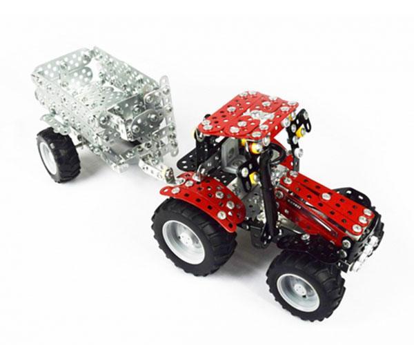 TRONICO 1:32 Kit montaje tractor CASE IH Puma 230 CVX con remolque - Ítem2