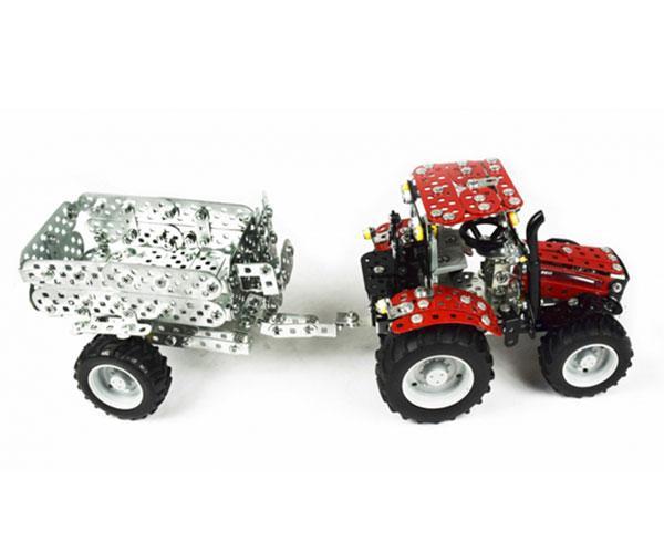 TRONICO 1:32 Kit montaje tractor CASE IH Puma 230 CVX con remolque - Ítem3