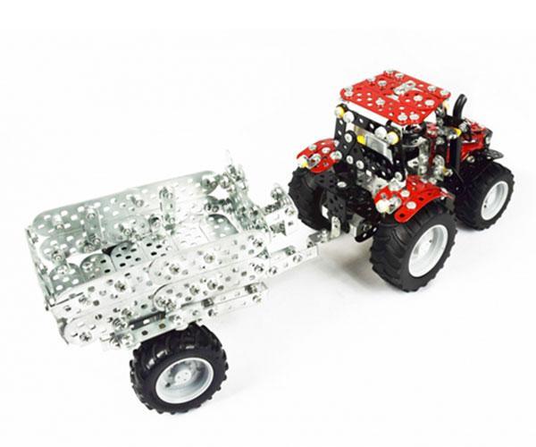 TRONICO 1:32 Kit montaje tractor CASE IH Puma 230 CVX con remolque - Ítem4