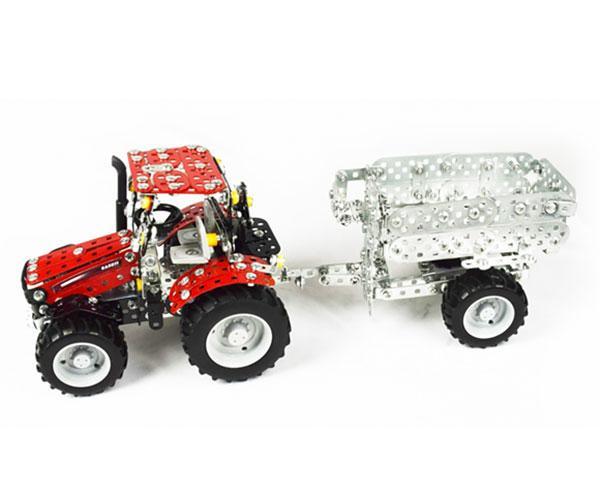 TRONICO 1:32 Kit montaje tractor CASE IH Puma 230 CVX con remolque - Ítem7
