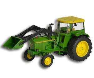 Réplica tractor JOHN DEERE 3120 con pala Schuco 450767800