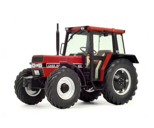 SCHUCO 1:32 Tractor CASE INTERNATIONAL 633 - Ítem1
