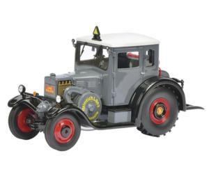 Replica tractor LANZ Eilbulldog gris