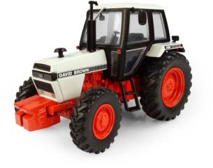 UNIVERSAL HOBBIES 1:32 Tractor DAVID BROWN 1490 4WD
