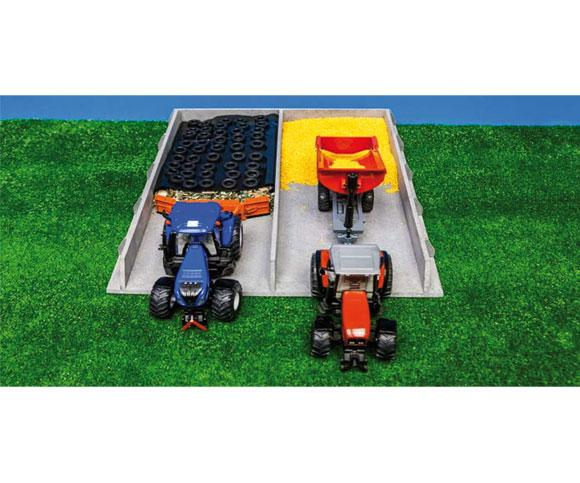 Silo horizontal para miniaturas escala 1:32 Kids globe Farming 610117 - Ítem2