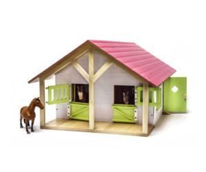 KIDS GLOBE FARMING 1:24 Establo de caballos