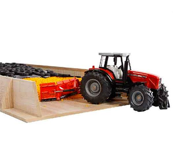 KIDS GLOBE FARMING 1:32 Silo horizontal para miniaturas a escala 1:32 - Ítem2