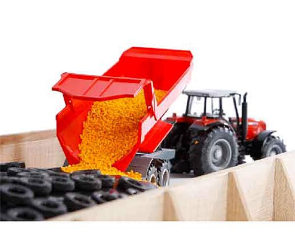 KIDS GLOBE FARMING 1:32 Silo horizontal para miniaturas a escala 1:32 - Ítem3