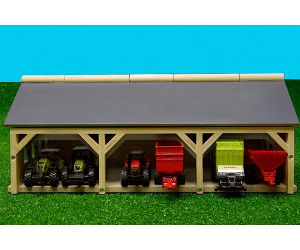 Almacén para miniaturas escala 1:87 Kids Globe Farming 60491 - Ítem1