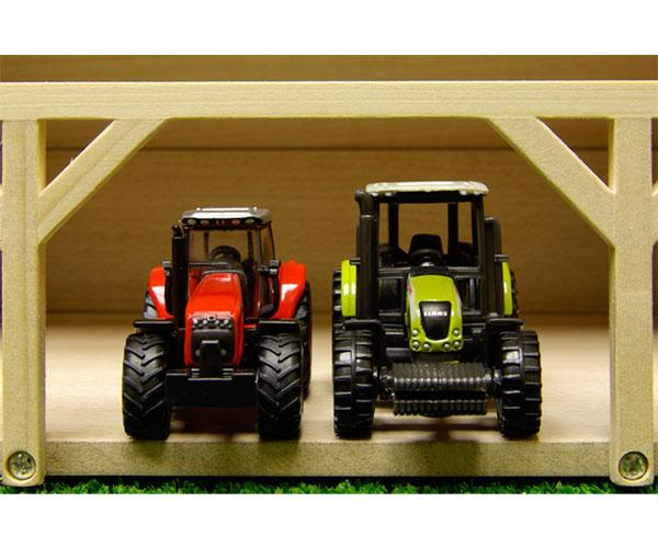 Almacén para miniaturas escala 1:87 Kids Globe Farming 60491 - Ítem3