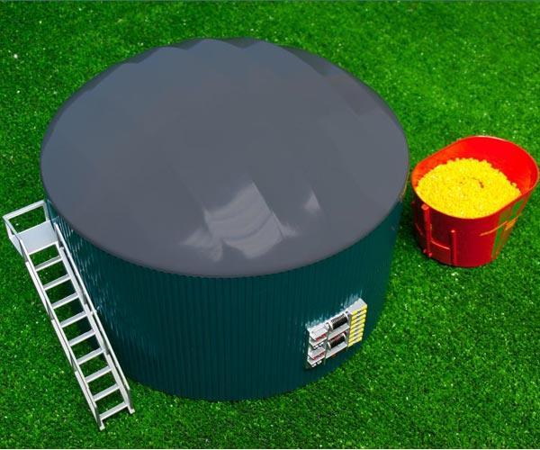 Miniatura instalacion de biogas - Ítem2