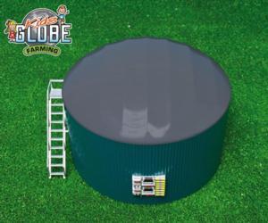 Miniatura instalacion de biogas