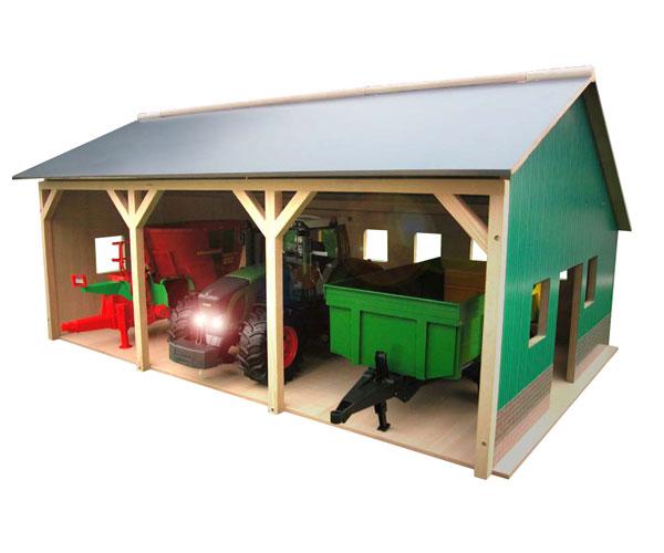 Almacén para 3 tractores de juguete escala 1:16 - Ítem2