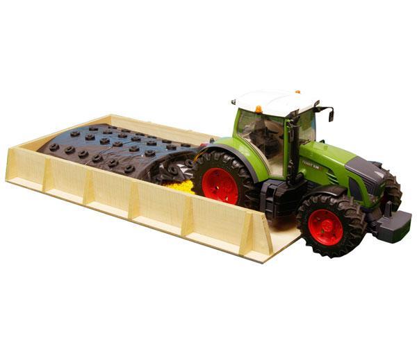 Silo horizontal de juguete para miniaturas escala 1:16