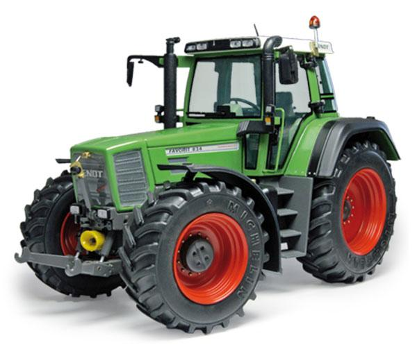 WEISE TOYS 1:32 Tractor FENDT Favorit 824