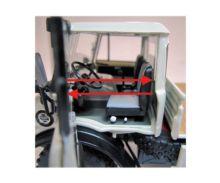 Réplica unimog MERCEDES BENZ MB 406 Weise Toys 1044 - Ítem2