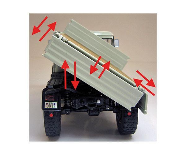 Réplica unimog MERCEDES BENZ MB 406 Weise Toys 1044 - Ítem3