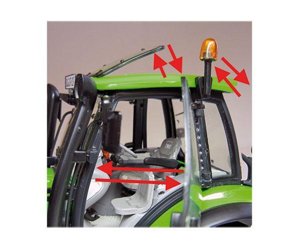 Réplica tractor DEUTZ-FAHR Agrotron 6190 con pala Weise Toys 1045 - Ítem5