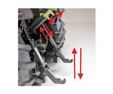 Réplica tractor DEUTZ-FAHR Agrotron 6190 con pala Weise Toys 1045 - Ítem7