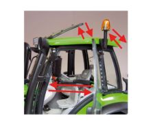 Réplica tractor DEUTZ-FAHR Agrotron 6190 TT Weise Toys 1046 - Ítem5