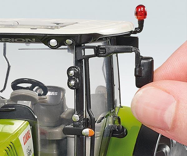 Replica tractor CLAAS Arion 650 con pala - Ítem1