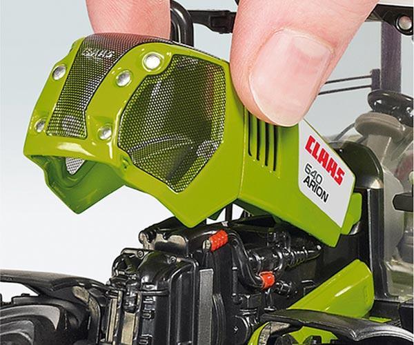 Replica tractor CLAAS Arion 650 con pala - Ítem2