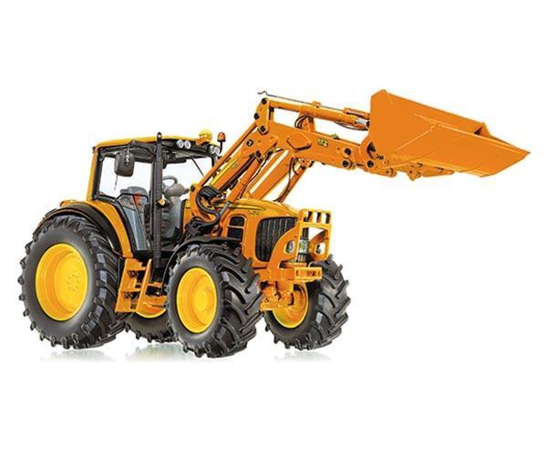 Replica tractor de servicios JOHN DEERE 7430 con pala