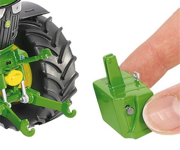 Replica tractor JOHN DEERE 6125R con pala - Ítem2
