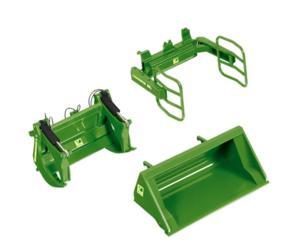 Accesorios pala frontal verde JOHN DEERE
