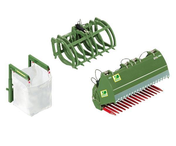 Accesorios frontal verde FENDT