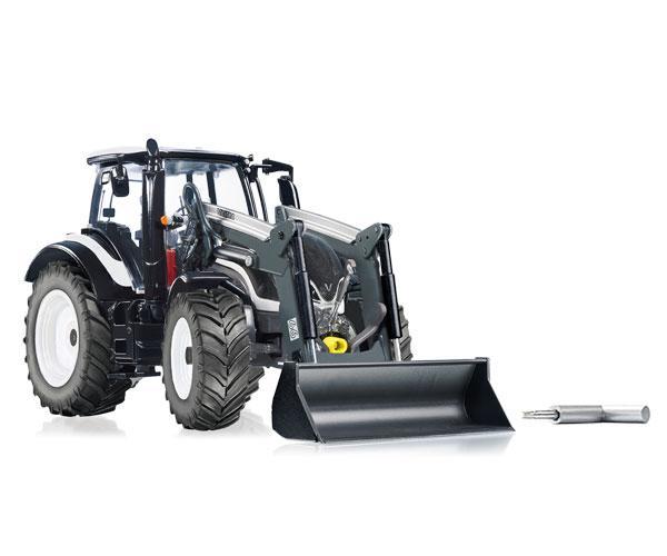 Replica tractor VALTRA T174 con pala Wiking 77815