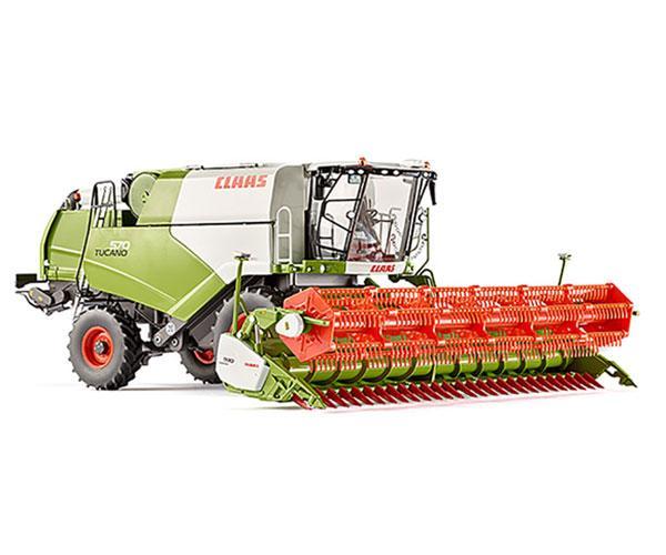 Réplica cosechadora CLAAS V930 Wiking 7817