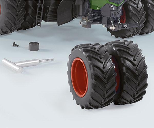 WIKING 1:32 Tractor FENDT 1050 Vario con ruedas gemelas - Ítem2
