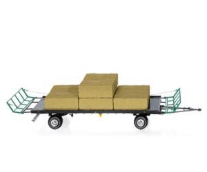 WIKING 1:32 Remolque transporte de pacas OEHLER 7831