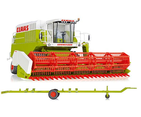 WIKING 1:32 Cosechadora CLAAS Commandor 116 CS - Ítem1