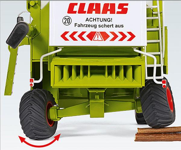 WIKING 1:32 Cosechadora CLAAS Commandor 116 CS - Ítem3