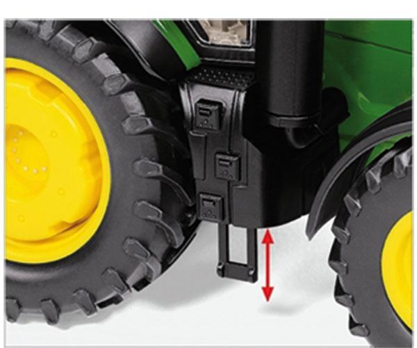 WIKING 1:32 Tractor JOHN DEERE 7310R 7837 - Ítem6