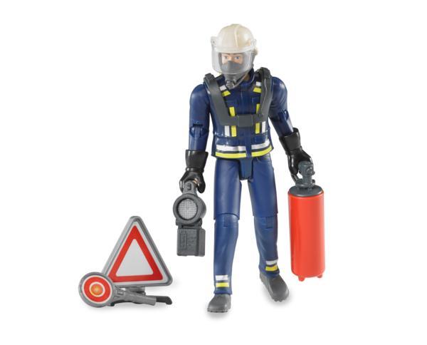 Pack bombero con escalera, extintor y señal - Ítem1