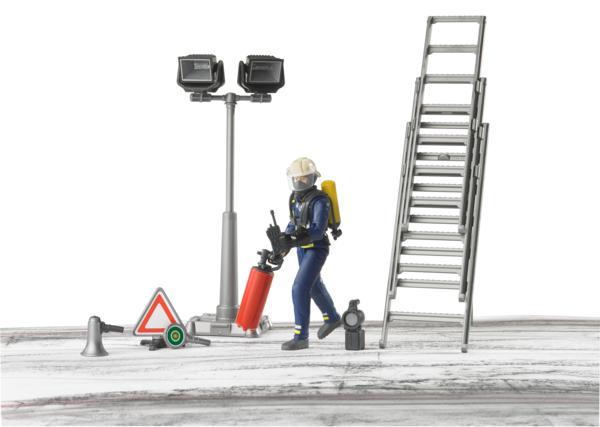 Pack bombero con escalera, extintor y señal - Ítem3