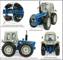UNIVERSAL HOBBIES 1:32 Tractor FORD COUNTY 1174 - Ítem3