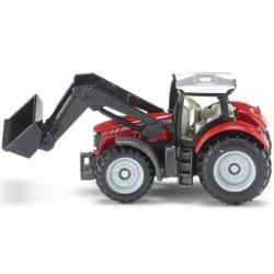 SIKU 1:87 Tractor MASSEY FERGUSON CON PALA FRONTAL