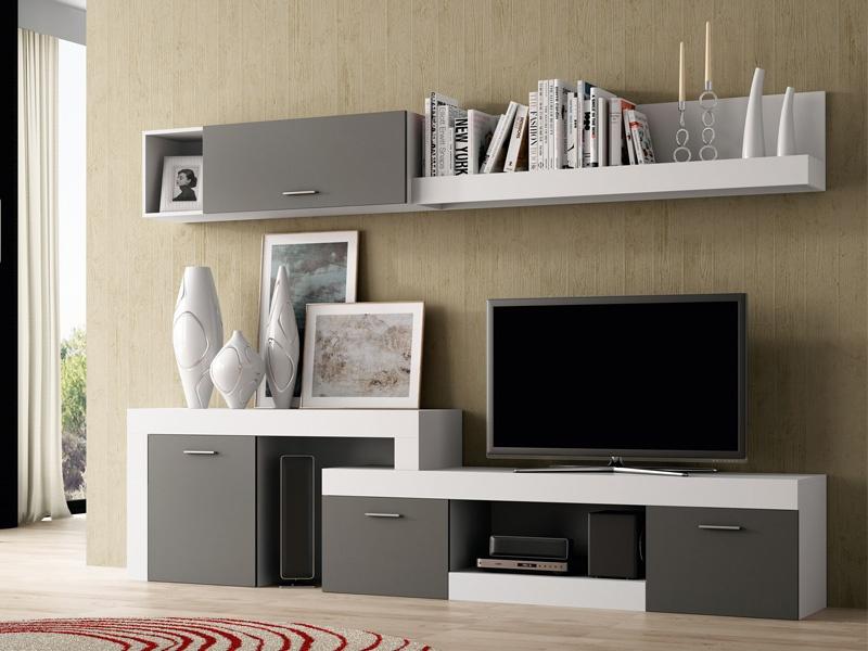 salon mueble modular, mueble salon tv, salon mueble modular tv, mueble