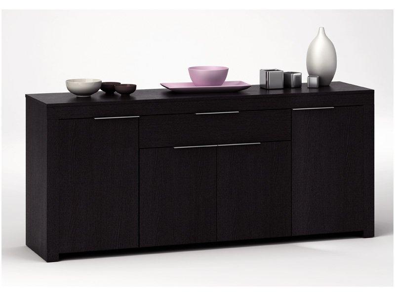 Aparador sal n vanguardista mueble comedor en blanco y negro - Mueble aparador para comedor ...