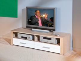 Mueble para televisión apilable en roble