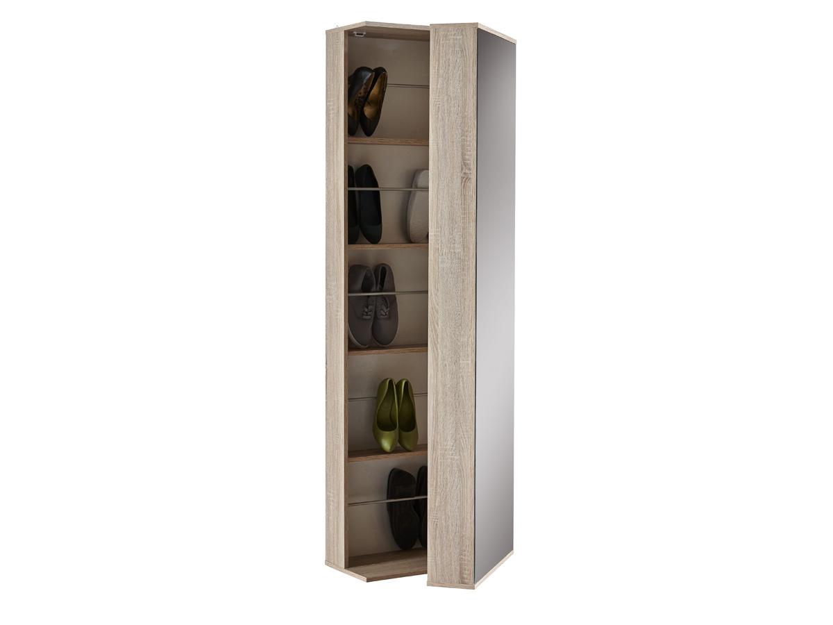 Decorar cuartos con manualidades armario zapatero con espejo groupon - Zapatero de pared ...