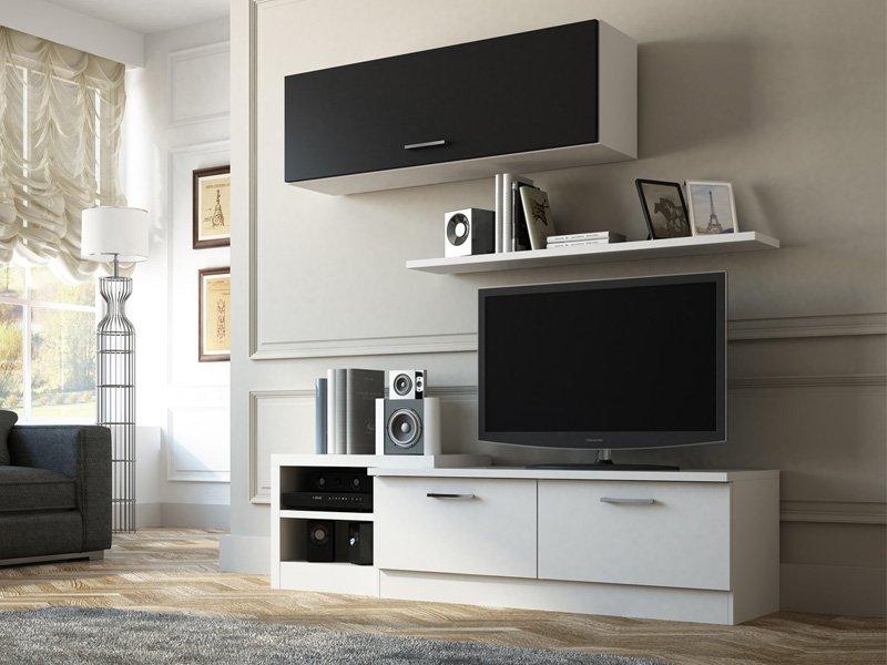 Muebles modernos para tv y audio - Muebles de tv modernos ...