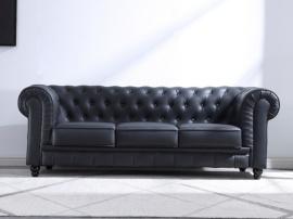 Sofá chester en blanco o negro